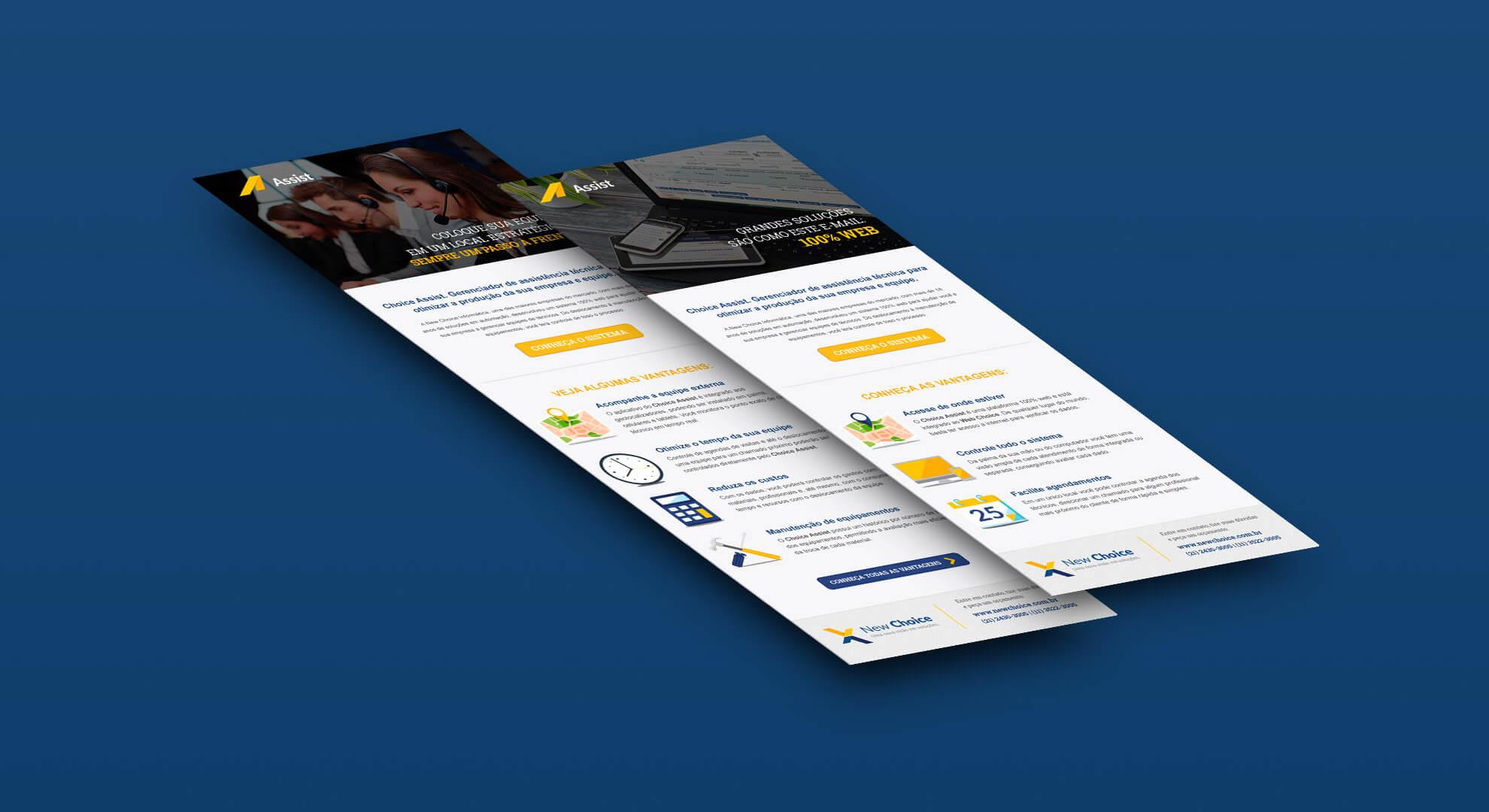 E-mail Marketing New Choice