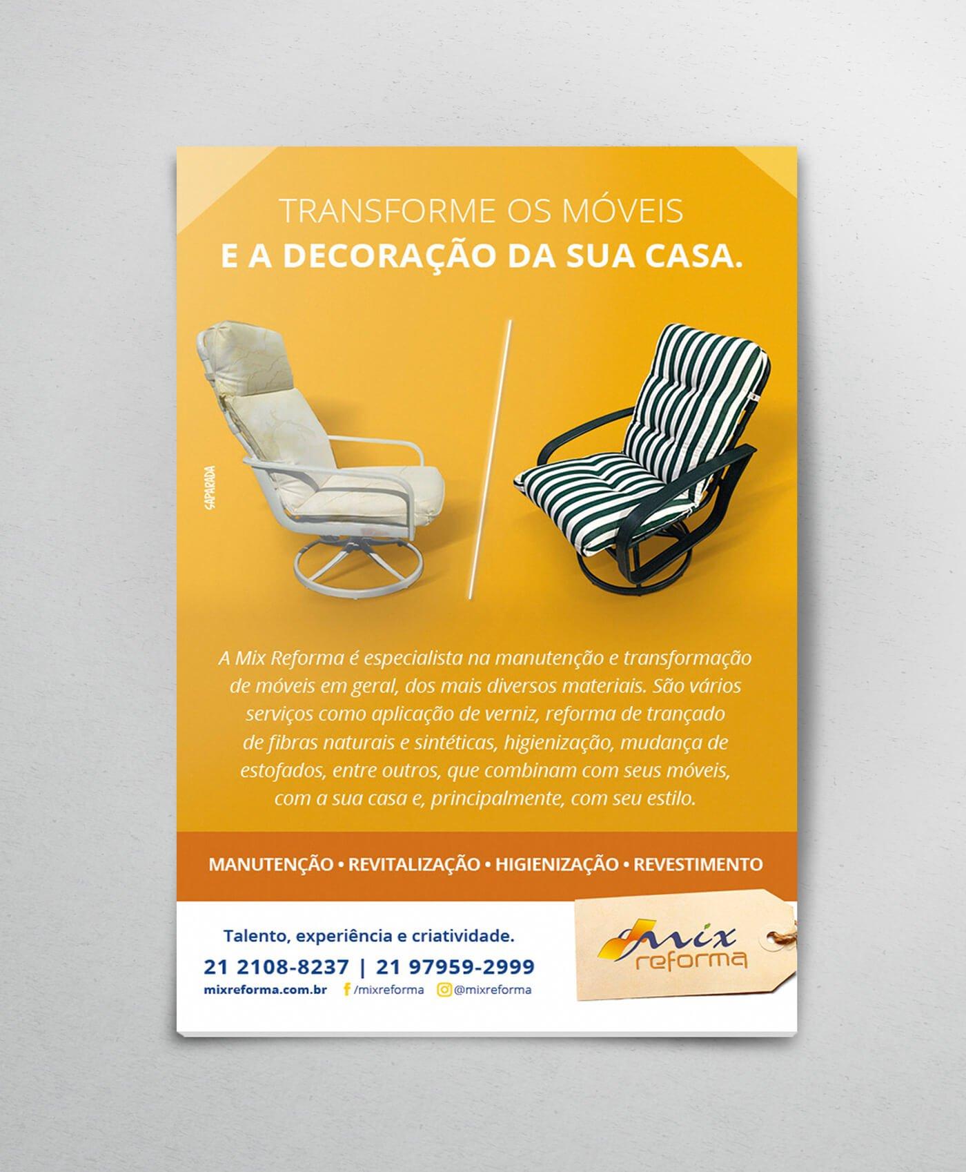 Anúncio Mix Reforma - Transforme seus Móveis