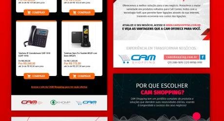 Campanhas de E-mails CAM Tecnologia