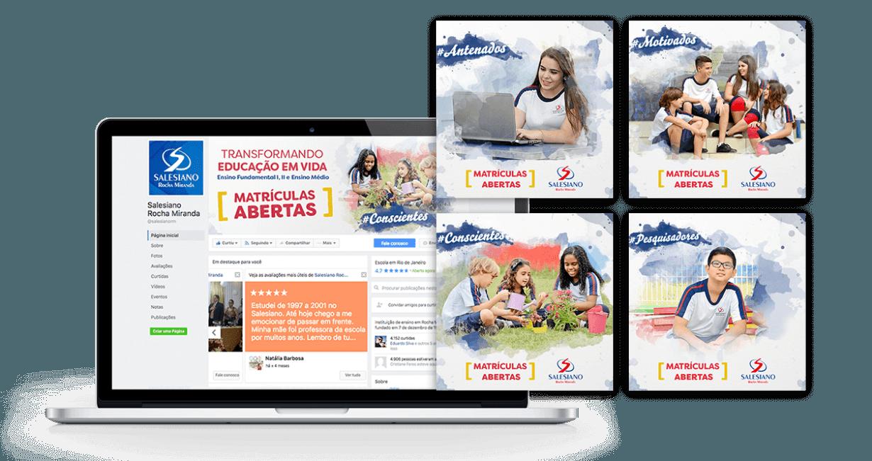 Salesiano Transformando Educação em vida